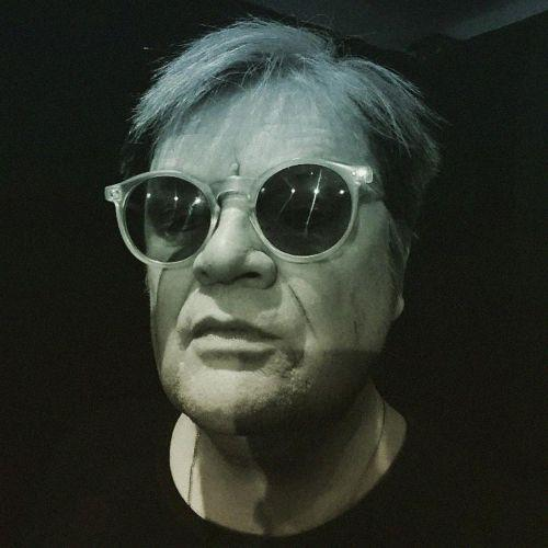 Garry Roost as Andy Warhol
